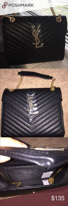 """YSL Saint Laurent Bag inspired Brand new with heavy chain. High quality. Size 10 9 3"""". Bags Shoulder Bags"""