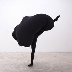 Bulbous garments are contorted during Shani Ha's Embody performances