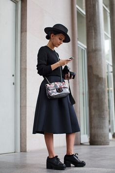 On the Street….After Costume National, Milan - The Sartorialist