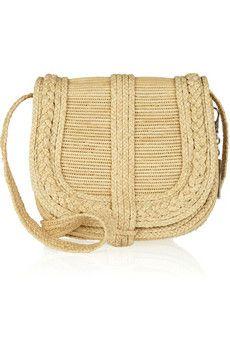 b7976ed7f7 Ralph Lauren Collection - Woven straw crossbody bag