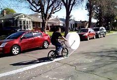 The Bubble Wrap Bike!