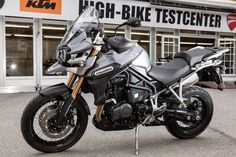 The great triumph of Tiger, quite correctly called 2014 Triumph Tiger Explorer XC