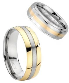 A two-tone ring