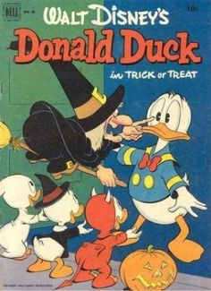 Donald Duck- Trick or Treat! Love this :)