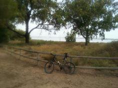 De ruta en el parque nacional de la laguna de la Mata