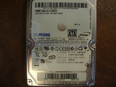 Samsung HM100JI/OMD (M60S SS) REV.A 100gb Sata (Donor for Parts) - Effective Electronics