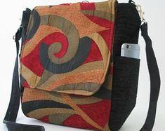 fabric backpack purse, floral handbag, convertible to crossbody bag, vegan backpack with zipper , made in USA Satchel, Crossbody Bag, Tote Bag, Nyc, Ipad, Womens Messenger Bag, Bag Pattern Free, Convertible, Backpack Purse