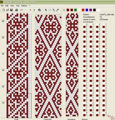 Узоры для вязаных жгутиков-шнуриков 6 | biser.info - всё о бисере и бисерном творчестве