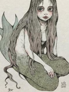 埋め込み画像への固定リンク Unicorns And Mermaids, Mermaids And Mermen, Sea Siren, Poses References, Hippie Art, Mermaid Art, Japanese Art, Dark Art, Art Inspo