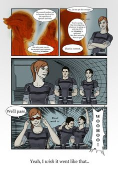 Mass Effect Crack: No Virmire (Color) by JulianneKnight.deviantart.com on @deviantART... Epic!