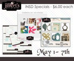 #NSD Grab Bag Deals by #JilbertsBitsOfBytes are on sale this weekend for Just $6.  Find them all under CU Grab Bags at #theStudio #digitalscrapbooking