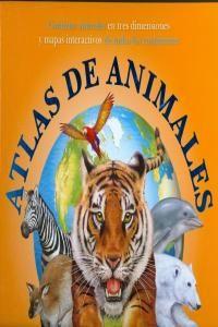 Atlas de animales, de Simon Munford, en editorial SM. Con mucha información organizada en pop-up y páginas deslizables, así como mapas ilustrados situando cada animal en su continente. A partir de 3 años.  *En nuestra biblioteca.