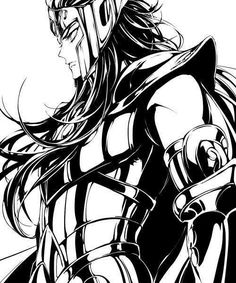 Saint Seiya History, Gold Saints: Black & White Pt. 2 // artwork...