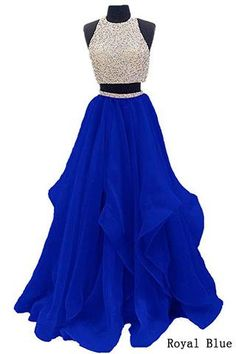 Looking for Dressytailor Two Piece Floor Length Organza Prom Dress Beaded Evening Gown ? Check out our picks for the Dressytailor Two Piece Floor Length Organza Prom Dress Beaded Evening Gown from the popular stores - all in one. 2 Piece Homecoming Dresses, Pretty Prom Dresses, Prom Dresses Two Piece, A Line Prom Dresses, Quinceanera Dresses, Dance Dresses, Cute Dresses, Prom Gowns, Dress Long