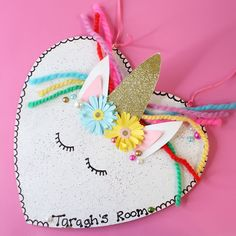 Learn how to make this adorable unicorn heart in our step by step tutorial.