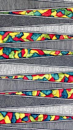 Lots of Detail, close up Zantangle Art, Zen Art, Sketchbook Inspiration, Art Sketchbook, Graffiti Art, Zentangle Patterns, Zentangles, Art Diary, Art Journal Techniques