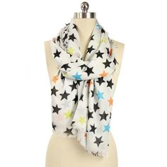 Stars Scarf, $25, now featured on Fab. And I was OK not having one of these scarves until I saw this one.