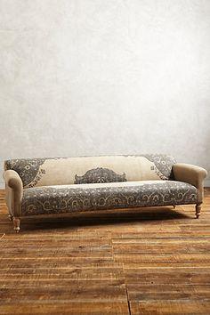 dhurrie sofa #anthrofave