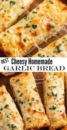 Make this super easy homemade Garlic Bread spread in just minutes! It's got two … Make this super easy homemade Garlic Bread spread in just minutes! It's got two kinds of cheese and a secret ingredient that puts it above any other garlic bread recipe! Garlic Bread Spread, Garlic Cheese Bread, Italian Cheese Bread, Comida Pizza, Homemade Garlic Bread, Best Cheesy Bread Recipe, Recipes With Garlic Bread, Garlic Bread From Scratch, Healthy Garlic Bread