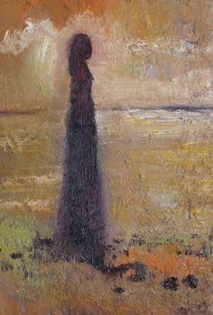 "Oil on canvas, 8 x 12"""