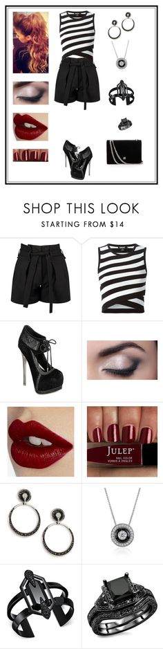 """""""Untitled # 305"""" by binasa87 ❤ liked on Polyvore featuring Boohoo, DKNY, Charlotte Tilbury, Plevé, Blue Nile and INC International Concepts"""