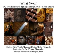 #fashion #art #design #SS16 #brown #chocolate #browncolor #trends #knitwear #textiles #knitting #creative #designer #wallart #inspiration #innovation