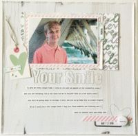 Layout using Felicity Jane kits for the Scrap Your Heart Out YouTube video hop iNSD 2016
