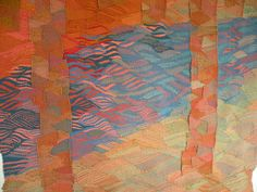 """Silvia Heyden _ Tapestry """"Eno From Above"""""""
