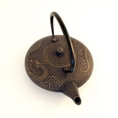 Dr oz irons and teas on pinterest - Imperial dragon cast iron teapot ...