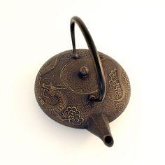 Dr oz irons and teas on pinterest - Cast iron dragon teapot ...