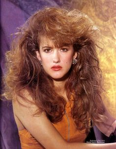 80s Big Hair, Full Hair, 90s Hairstyles, Ginger Hair, Beautiful Celebrities, Hairdresser, Redheads, Curly Hair Styles, Magazines