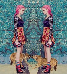 Free Your Mind....Bright Colors and Amazing Prints Mix - TrendSurvivor