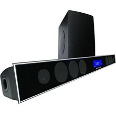 21 Soundbar W 80 Wireless Subwoofer And MAXBASS Chip By Sound Appeal Headphones For