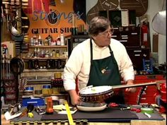 The set-up and maintenance of the 5-string banjo