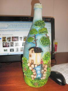 Botellas decoradas - Поиск в Google