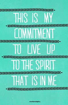 This is my commitment. | Flickr - Photo Sharing❤️