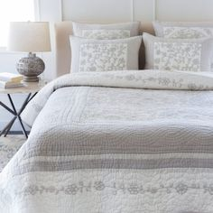 Delaney Quilt and Shams by Surya