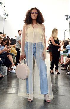 Solange Knowles à la Fashion Week de New York