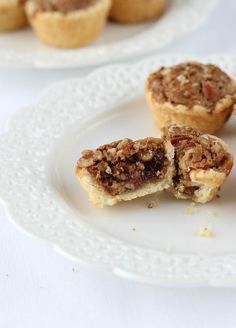 My Great-Grandmother Rosa's Pecan Tassies - Mini Pecan Pies in a sensational cream cheese crust. The perfect two-bite party snack! Pecan Recipes, Pie Recipes, Cookie Recipes, Pecan Pie In A Jar Recipe, Nut Cups Recipe, Pecan Tassie Recipe, Aloo Recipes, Recipe Recipe, Quick Recipes