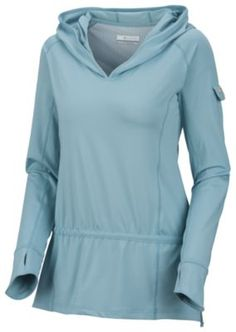 Perfect for fishing or kayaking. Love the thumb holes in the sleeves.....