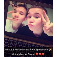 Marcus & Martinus Official Instagram! Snapchat: marcus-martinus musical.ly: marcusandmartinus Official M&M merch: www.mmstore.com