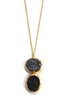 Finest Pharaoh Necklace: Gunmetal - $16.99 : Spotted Moth, Chic and sweet clothing and accessories for women