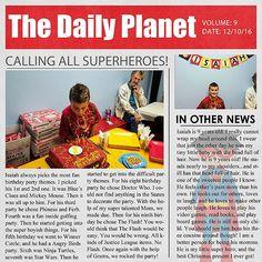 The Daily Planet News - Scrapbook.com