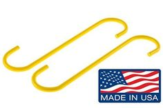 Brake Caliper Hangers (Set of 2) - Made in the USA, Model: , Car & Vehicle Accessories / Parts. Hold brake calipers out of the way, reducing the possibility of damage to calipers, brake hoses and. Perfect for a variety of automotive work, including tasks related to brakes, wheel bearings, axle. By using a dedicated, purpose-specific tool, you'll avoid the waste and time that come with using. Powder coated yellow so you won't misplace them or leave them in a customer's car (or yours) ever....
