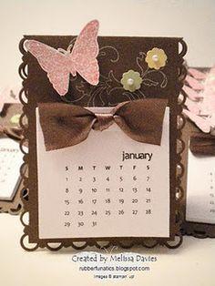 calendar Melissa Davies