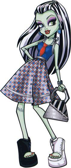 Frankie Stein. Fashion Pack