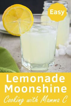 Lemonade Moonshine – Just 4 ingredients and so refreshing! Lemonade Moonshine – You have to try this refreshing drink! It's so easy to make. Moonshine Cocktails, Homemade Moonshine, How To Make Moonshine, Homemade Wine, Frozen Fruit, Frozen Drinks, Grass Fed Butter, Refreshing Drinks, Recipes