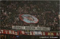 Ajax fans, legends
