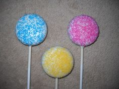 1 chocolate candyland sugar crystal molded oreo lollipops lollipop | sapphirechocolates - Edibles on ArtFire