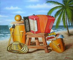 Cuadros Modernos Pinturas y Dibujos : Bodegones costeños cuadros pintados al óleo sobre lienzo